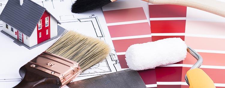devis peintre batiment peinture salon au Havre